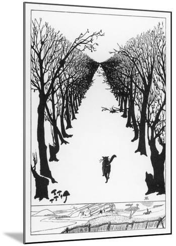 The Cat That Walked By Himself--Mounted Giclee Print