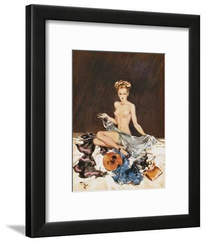 Kit Inspection-David Wright-Framed Art Print
