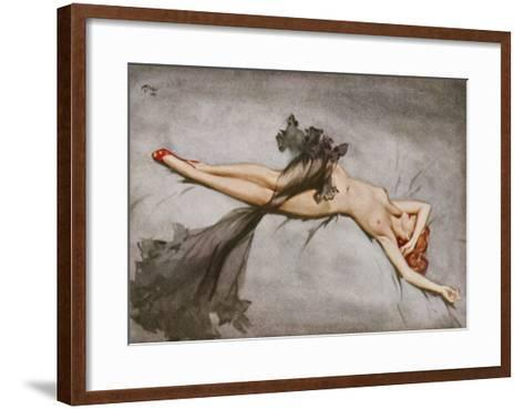 March 1953 by David Wright--Framed Art Print