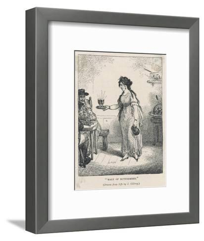 Mary Robinson Buttermere--Framed Art Print