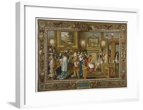 Louis XIV Fontainebleau--Framed Art Print
