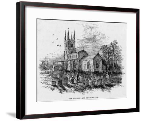 Lutterworth Church, Leicestershire--Framed Art Print