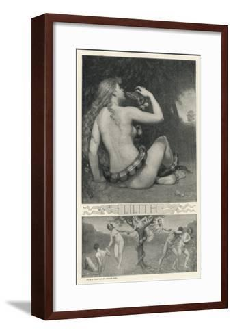 Night Vampire Probably of Babylonian Origin--Framed Art Print