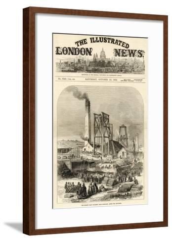 Morley Main Colliery, Near Dewsbury--Framed Art Print