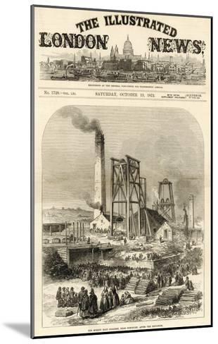 Morley Main Colliery, Near Dewsbury--Mounted Giclee Print
