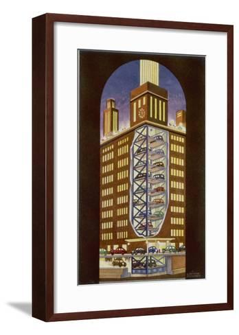 Multi-Storey Car Park--Framed Art Print