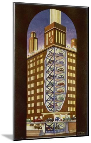 Multi-Storey Car Park--Mounted Giclee Print