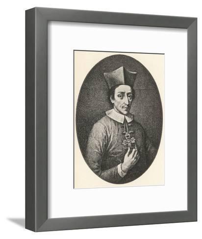 Nicolaus Stensen--Framed Art Print