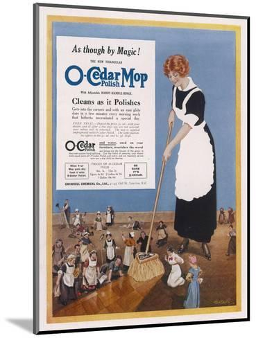 O-Cedar Polish Mop - Cleans as it Polishes--Mounted Giclee Print