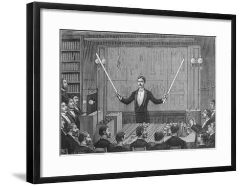 Nikola Tesla--Framed Art Print
