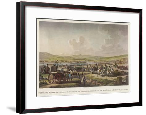 Napoleon at Danzig--Framed Art Print