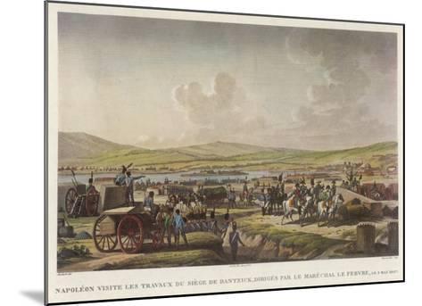 Napoleon at Danzig--Mounted Giclee Print