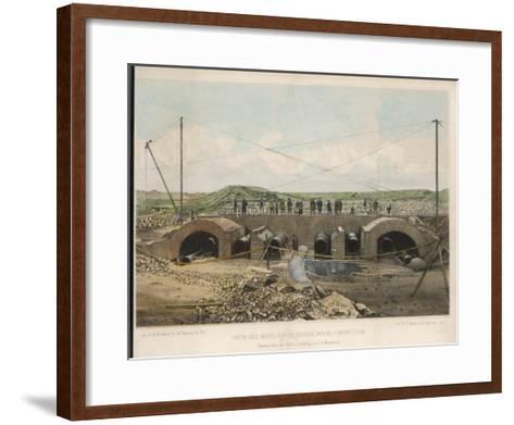 New York Reservoir--Framed Art Print