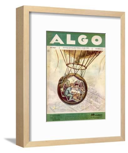 Piccard 1931 Ascent--Framed Art Print