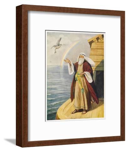 Noah on the Ark--Framed Art Print