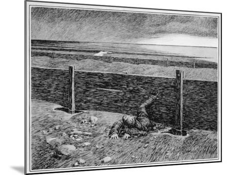 Oh, Whistle, and I'll Come to You! Parkins's Dream of the 'thing' on the Sea-Shore--Mounted Giclee Print