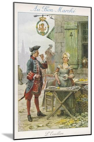 Paris, Oyster Stall 18C--Mounted Giclee Print