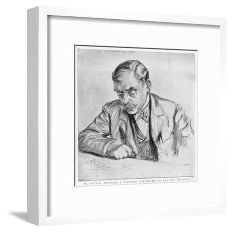 Octave Mirbeau--Framed Art Print