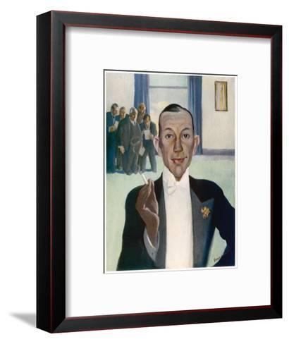 Noel Coward (1899-1973)--Framed Art Print