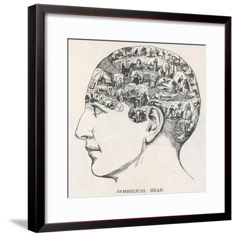 Paranormal Phrenology--Framed Art Print