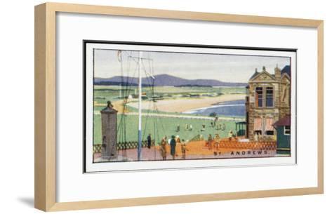 St Andrews, Fife--Framed Art Print