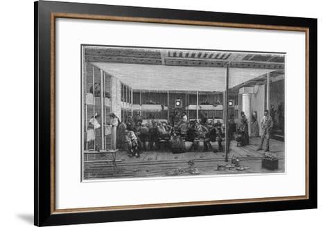 Steerage Passengers on Board an Atlantic Liner--Framed Art Print