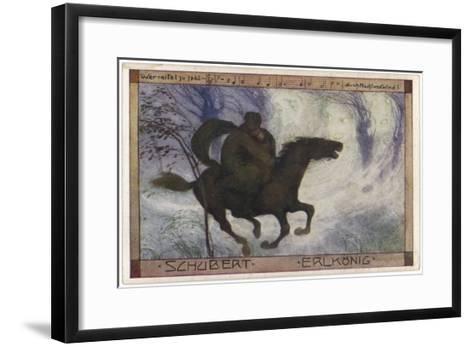 Schubert's 'Erlkonig' (Goethe)--Framed Art Print