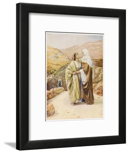 Ruth and Naomi--Framed Art Print