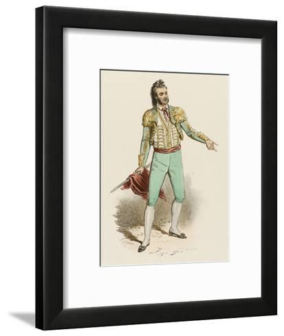 Spanish Toreador--Framed Art Print