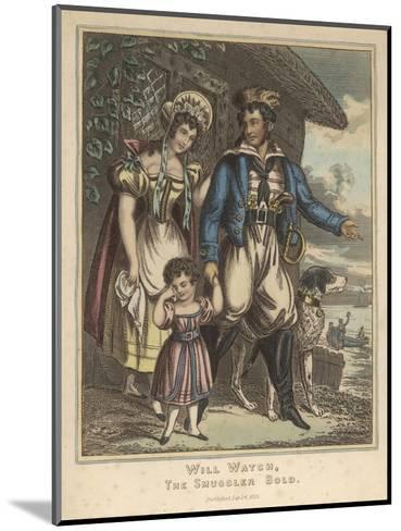 Smuggler--Mounted Giclee Print