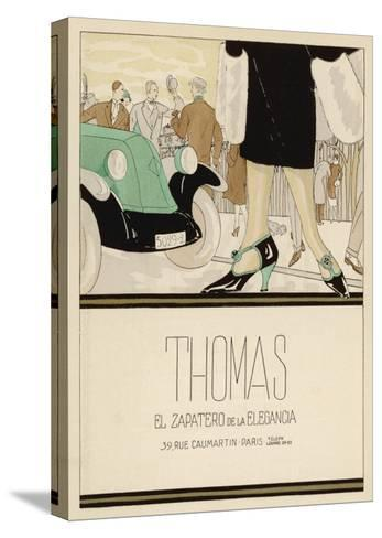 Shoes by Thomas--Stretched Canvas Print