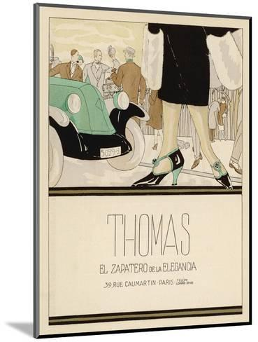 Shoes by Thomas--Mounted Giclee Print