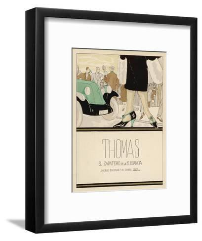 Shoes by Thomas--Framed Art Print