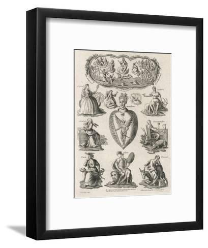 Seven Deadly Sins--Framed Art Print