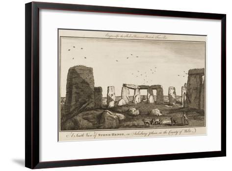 Stonehenge--Framed Art Print