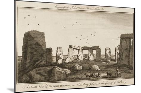 Stonehenge--Mounted Giclee Print