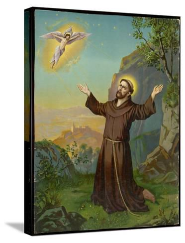 Saint Francis of Assisi - Receiving the Stigmata--Stretched Canvas Print