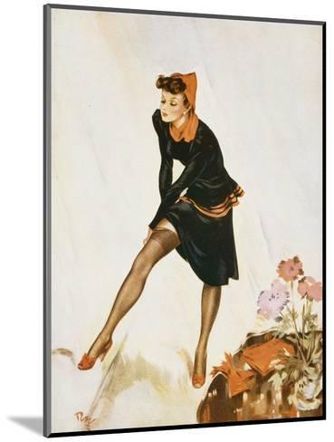 Show a Leg-David Wright-Mounted Giclee Print
