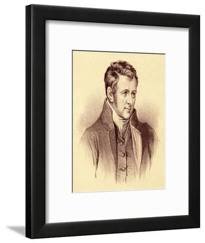 Sir Humphry Davy Scientist--Framed Art Print