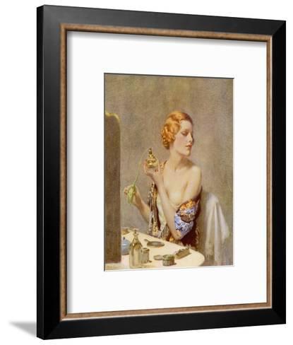 The Artist at Work by Fred Pegram--Framed Art Print