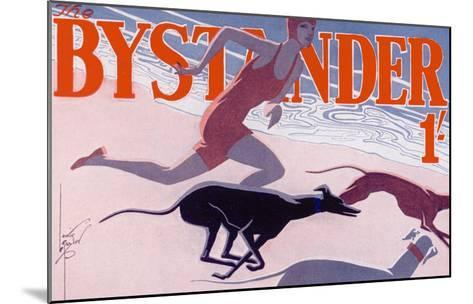The Bystander Masthead by Laurie Taylor, 1930--Mounted Giclee Print