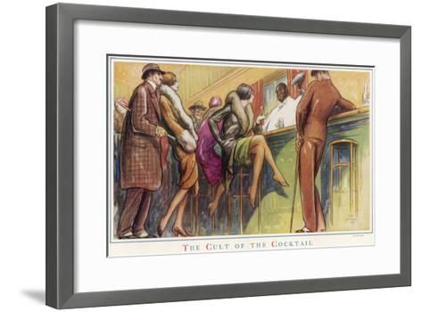 The Cult of the Cocktail--Framed Art Print