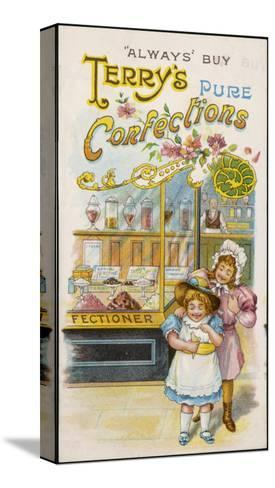 Terry's Pure Confections--Stretched Canvas Print