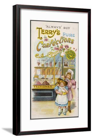 Terry's Pure Confections--Framed Art Print