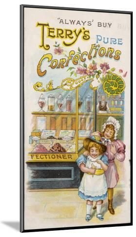 Terry's Pure Confections--Mounted Giclee Print