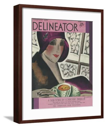 The Delineator November 1929--Framed Art Print