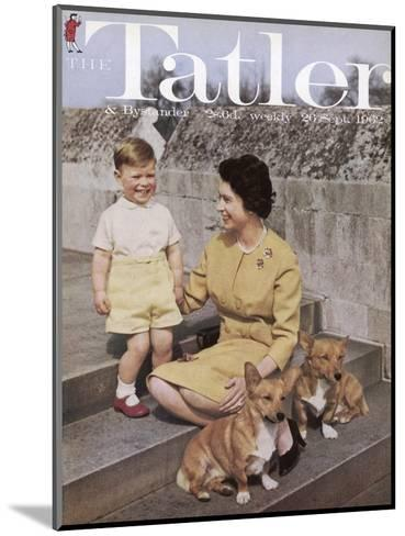 Tatler Front Cover: Queen Elizabeth Ii and Prince Andrew--Mounted Giclee Print