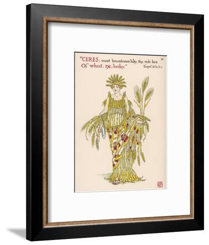 Symbol of Harvest Time--Framed Art Print