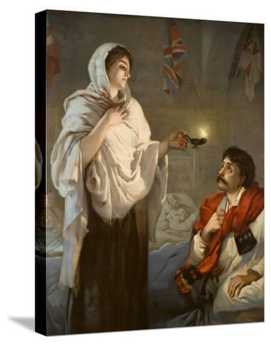 The Lady with the Lamp Florence Nightingale--Stretched Canvas Print