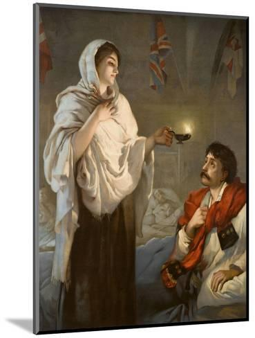 The Lady with the Lamp Florence Nightingale--Mounted Giclee Print